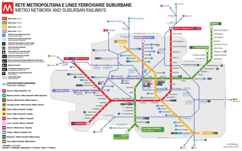 TRANPORT EN COMMUN MILAN